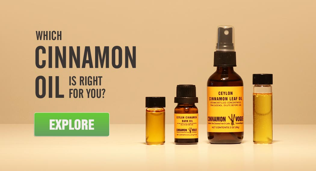 cinnamon bark and leaf oil