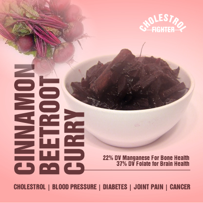 cinnamon beetroot curry
