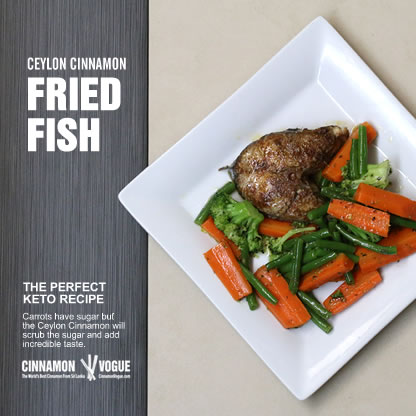 for Fried fish nutrition