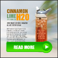cinnamon lime gym hydration