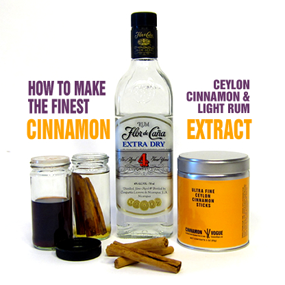 Cinnamon Extract Recipe